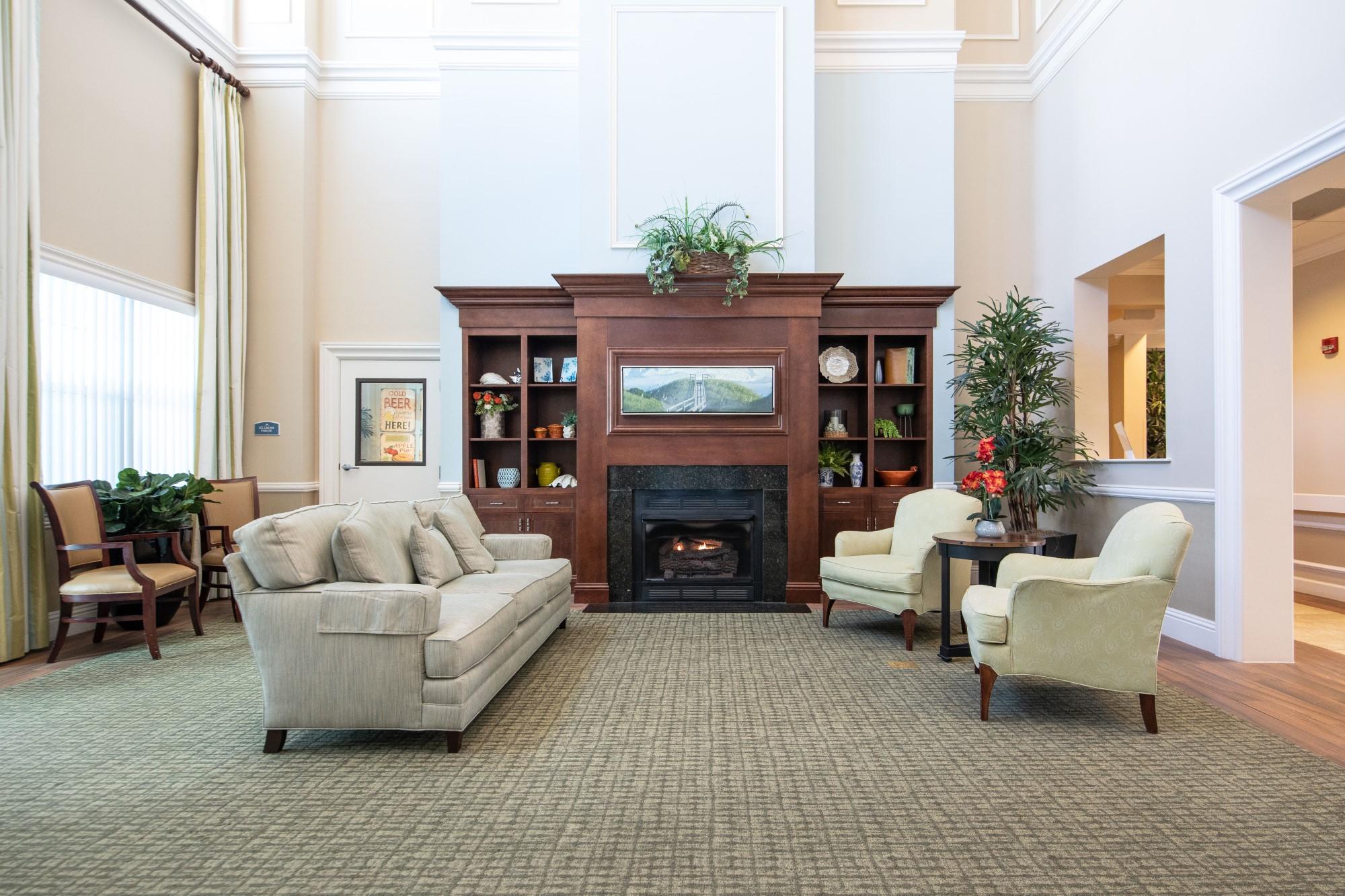 Grand Oaks of Jensen Beach Community Living Room