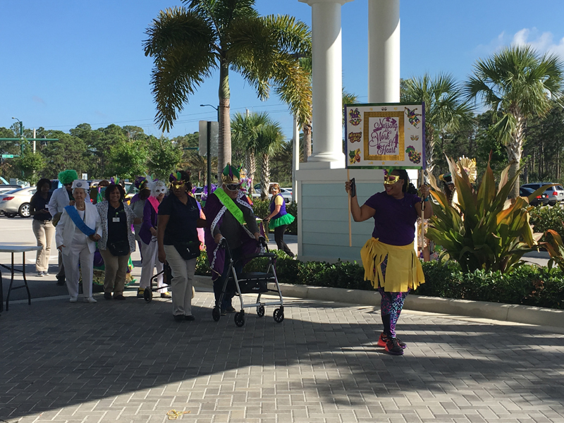 Grand Oaks of Jensen Beach Mardi Gras