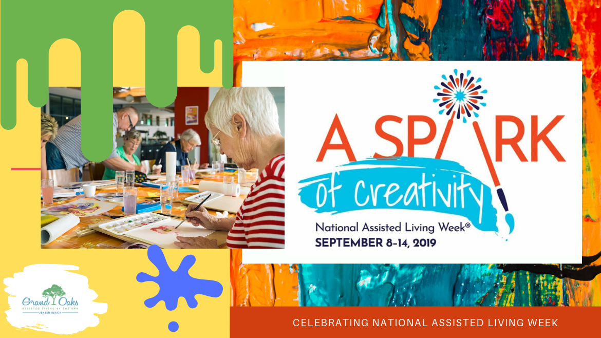 Creativity Sparks During National Assisted Living Week